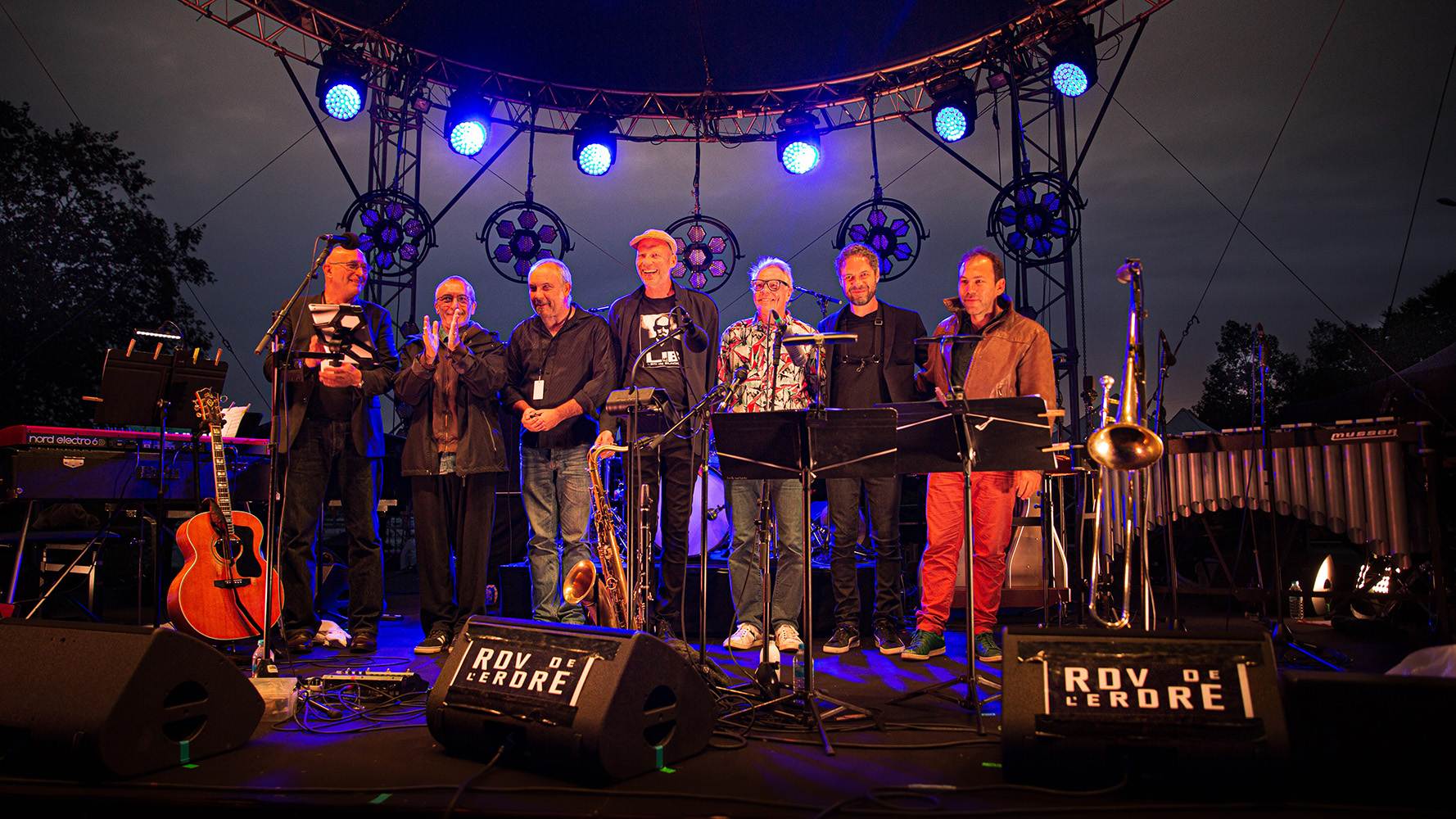 Hasse Poulsen septet - Parc Expo (Photo JC Guary)